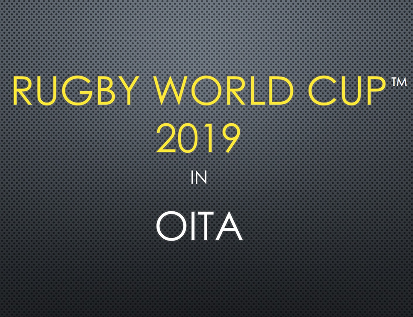 Oita Rugby 2019 2