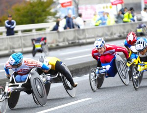 OIta Wheelchair marathon